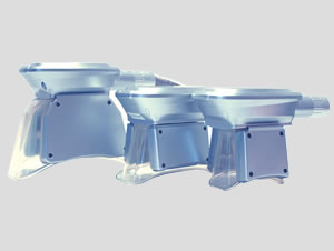 S・M・L、3サイズの吸引式冷却アプリケーターを標準装備なので様々な施術箇所に対応することが出来ます。