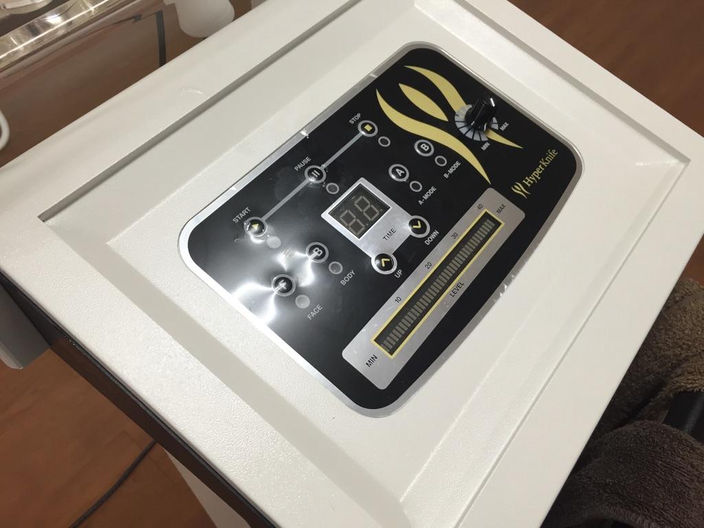 三重県内のサロンにハイパーナイフ導入しました!