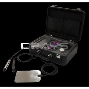 コンパクトで持ち運びができるポータブル高周波温熱機器「ラフォスmini」